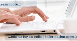 Learn more, join us for an online information meeting