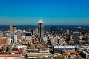 indianapolis-city skyline
